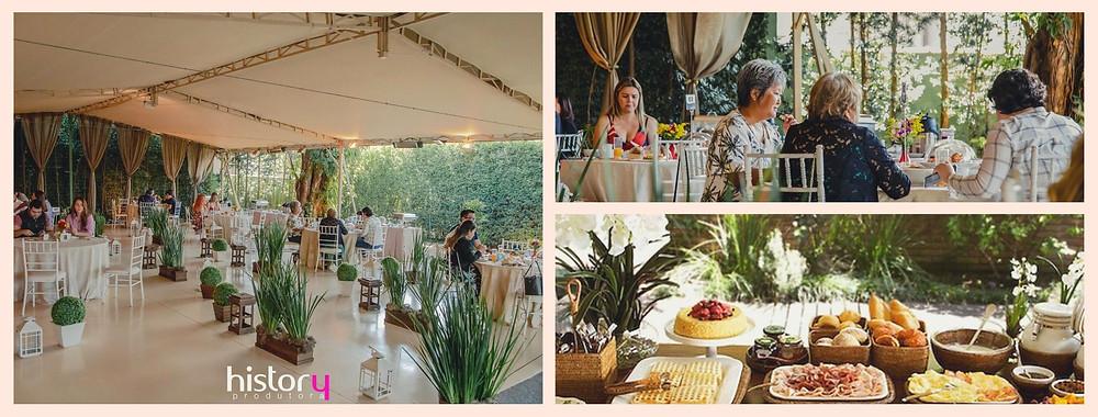 Mini Wedding para até 50 convidados no Restaurante Jardim Colonial sem cerimonia religiosa - Brunch aos domingos