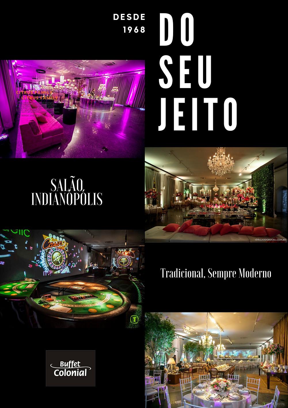 Espaço de eventos, Casa Colonial -São Paulo, moema, zona sul