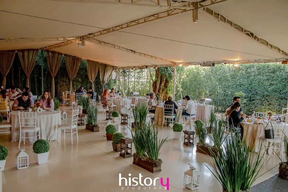 Espaço de eventos arejado - Jardim Indianópolis
