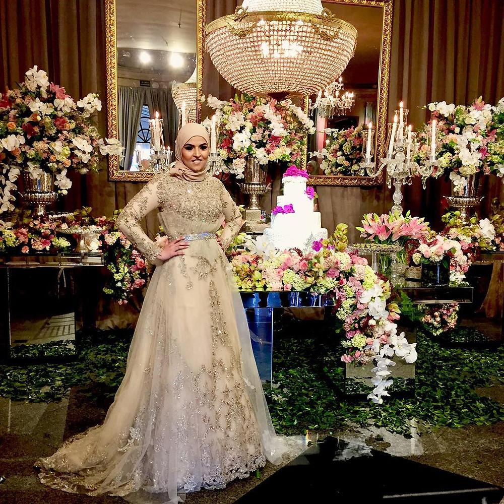 casamento arabe, buffet colonial
