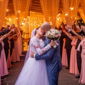 Festa de casamento com uma história  que ninguém contou!