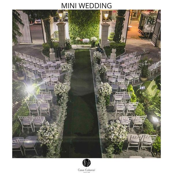 Casamento Mini Wedding Bolo e Champanhe
