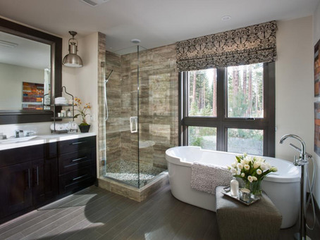 How To Design A Luxurious Master Bathroom!