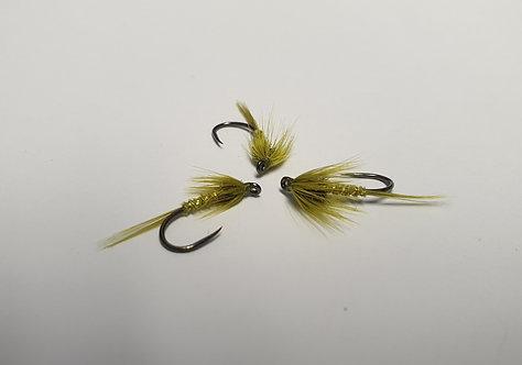 Olive & Gold, Shimmer Cruncher