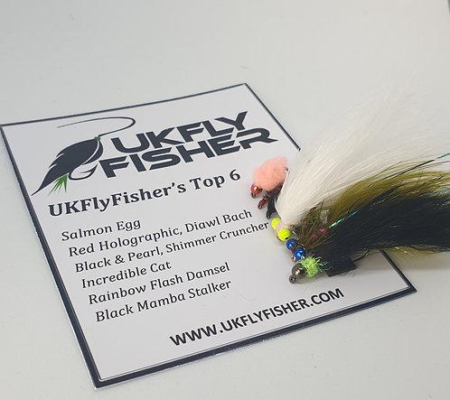 UKFlyFisher Top 6 Flies