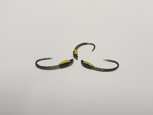 Black & Chartreuse, Quilled M.S.B.