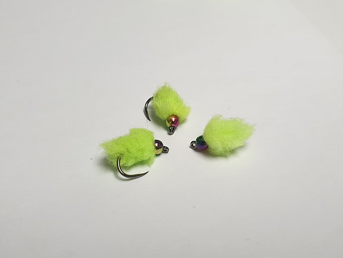 Chartreuse Rainbow Egg ( Size 14 )