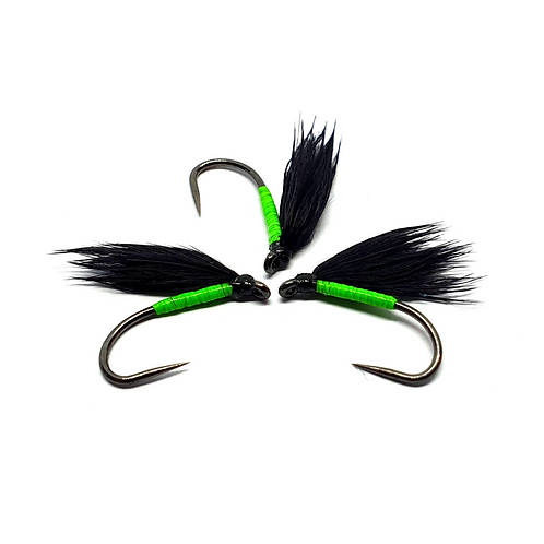 Black & Chartreuse, Neon Flash Cormorant