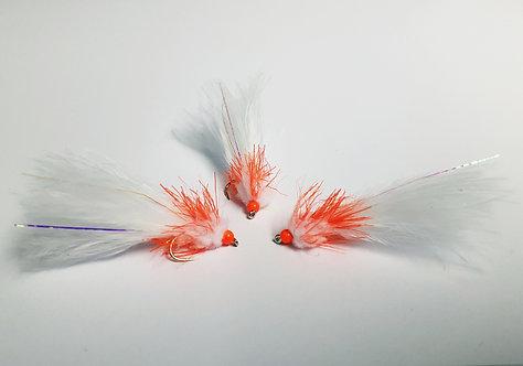 White & Orange Pulsefire Lure