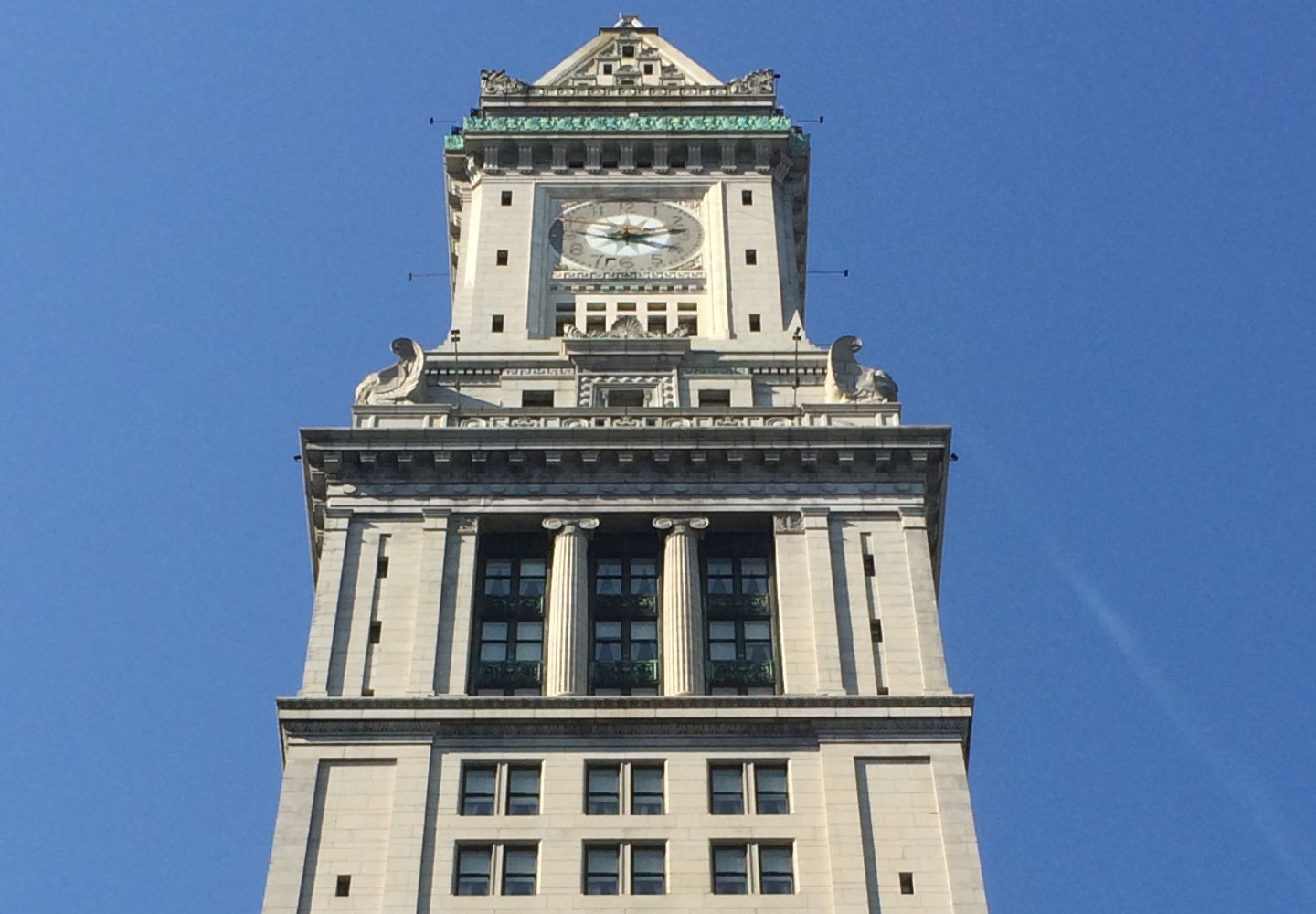 Custom House Tower-Boston