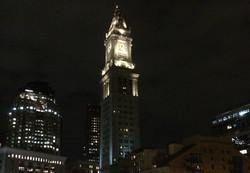 Custom House Tower-Boston Night Shot