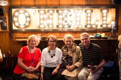 Members at Blue Gene's Pub
