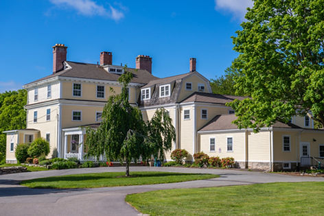 The Hammond Mansion at the Eugene O'Neill Theater Center