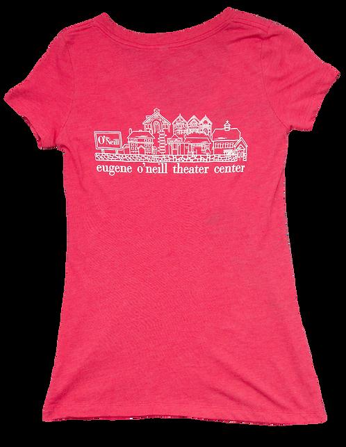 V-Neck Village T-Shirt