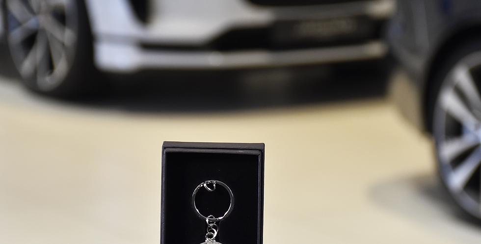porte clé Jaguar-inox Growler