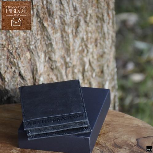 Arthur&Aston cuir 1438-126 noir
