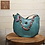 Thumbnail: lolippops S195333/3 coral green Hissy ShopperL