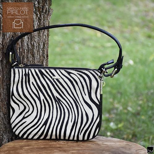 Loulou 91bag20LG wild zebra