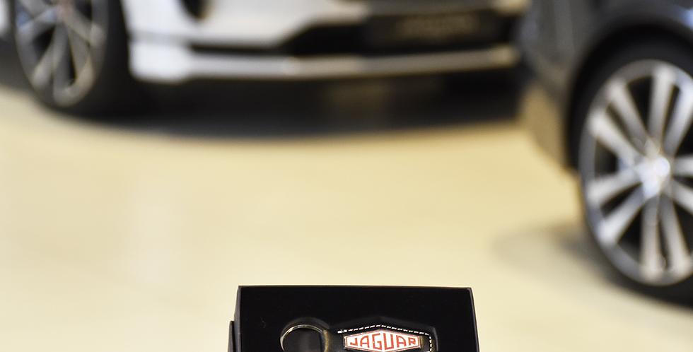 porte clé Jaguar cuir héritage