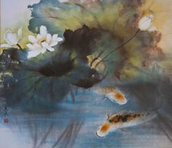 frolic in lotus pond (2)