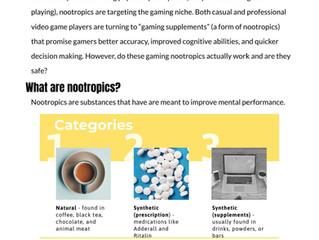 Nootropics & Esports