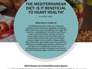 Mediterranean Diet: Is it Beneficial to Heart Health?