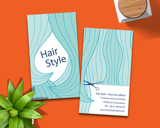 CARTE DE VISITE (Hair Style)