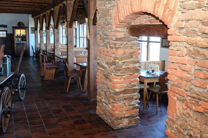 Originale Steinmauer