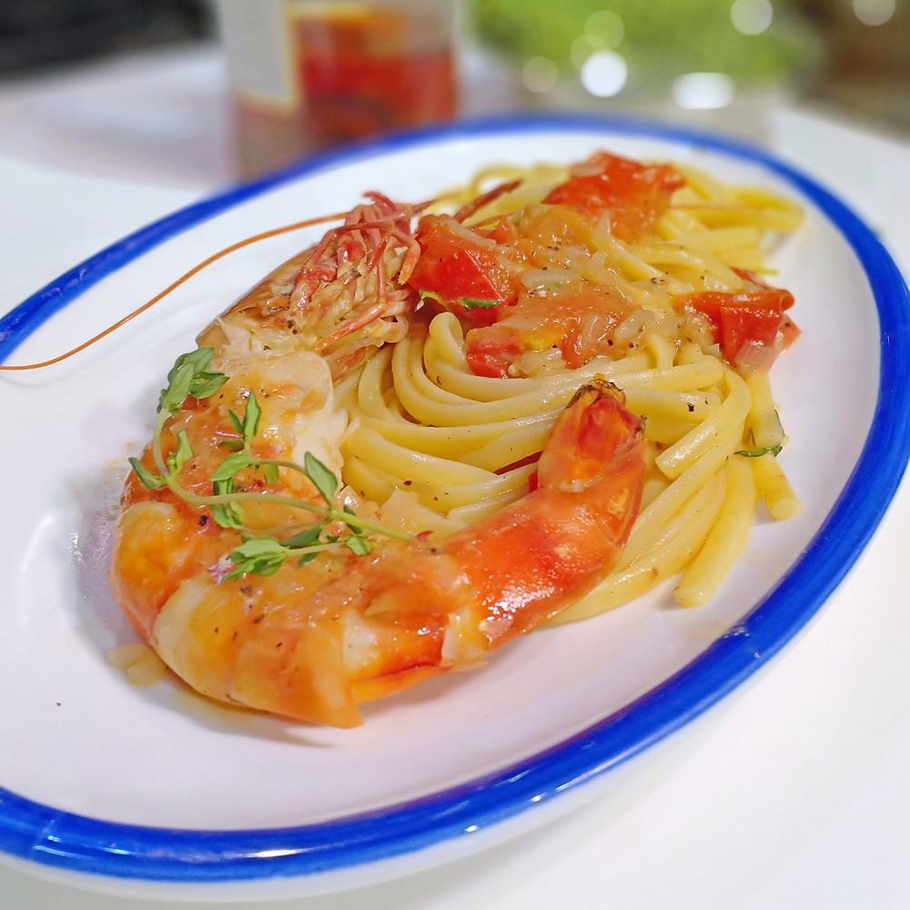 rigatoni genovese pasta