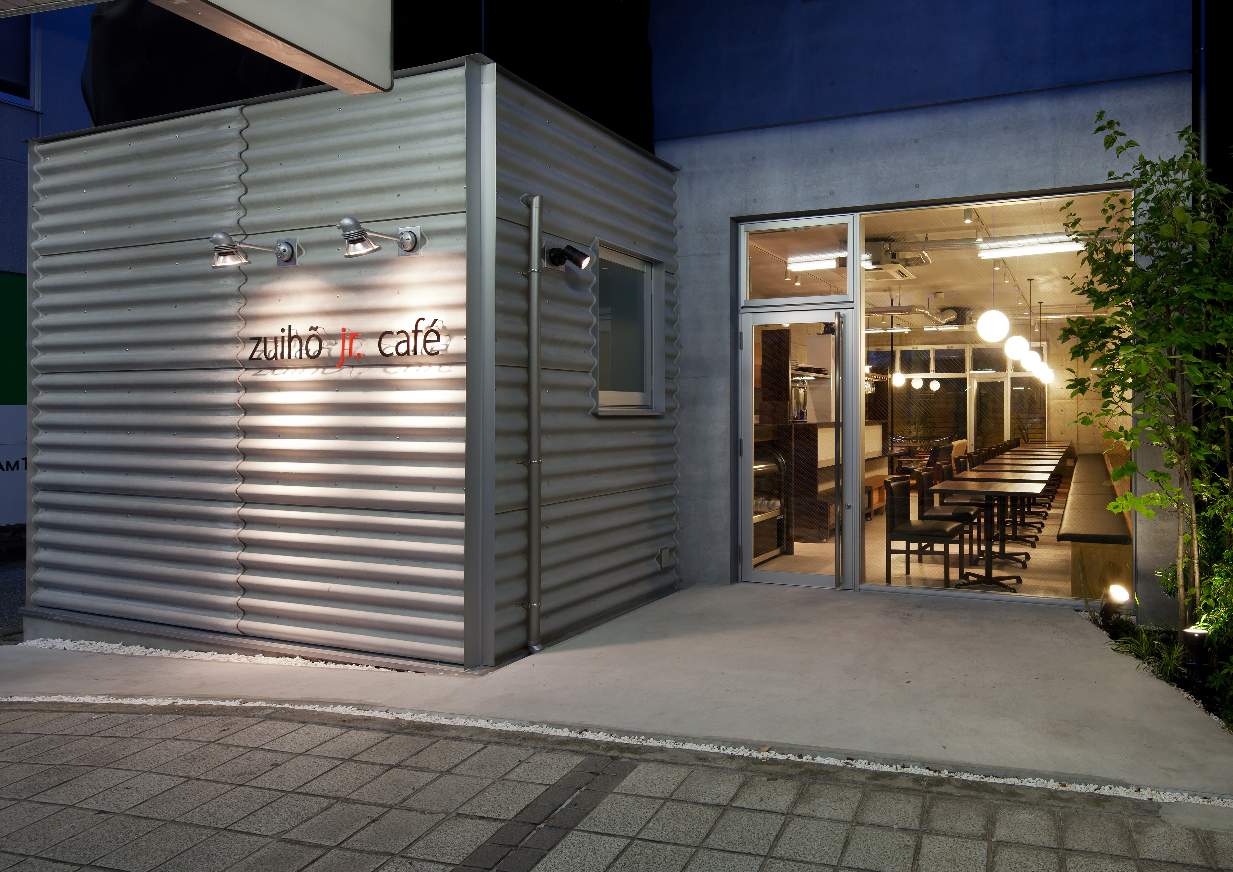 zuiho jr. cafe(滋賀県彦根市)〈建築プロデュース〉