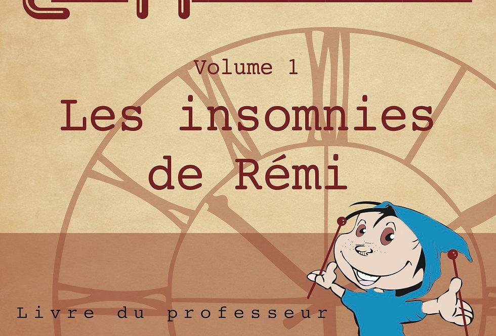 Les insomnies de Rémi / Livre du professeur