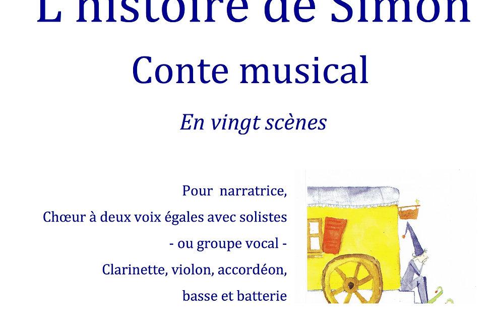 L'histoire de Simon piano et chant