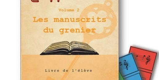 Les manuscrits du grenier/Livre de l'élève