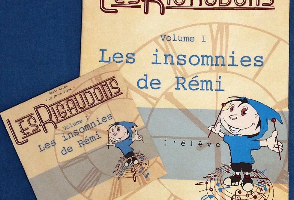 Les insomnies de Rémi/livre de l'élève + CD
