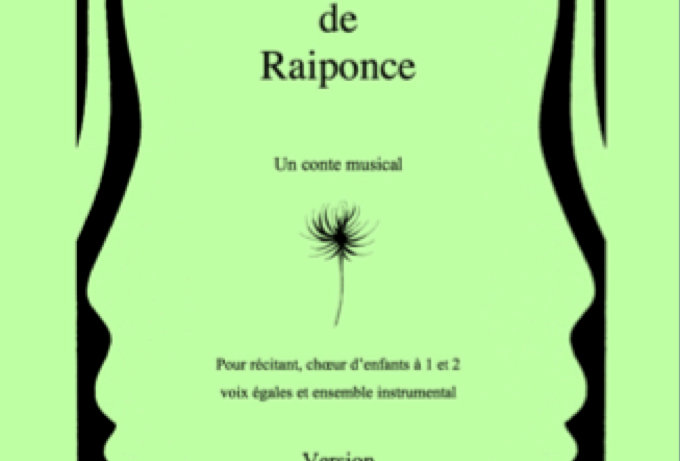 Eléments de Raiponce Version piano et chant