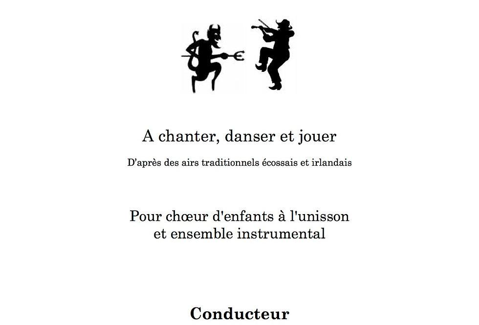 Matériel pour le conducteur / 14 parties instrumentales