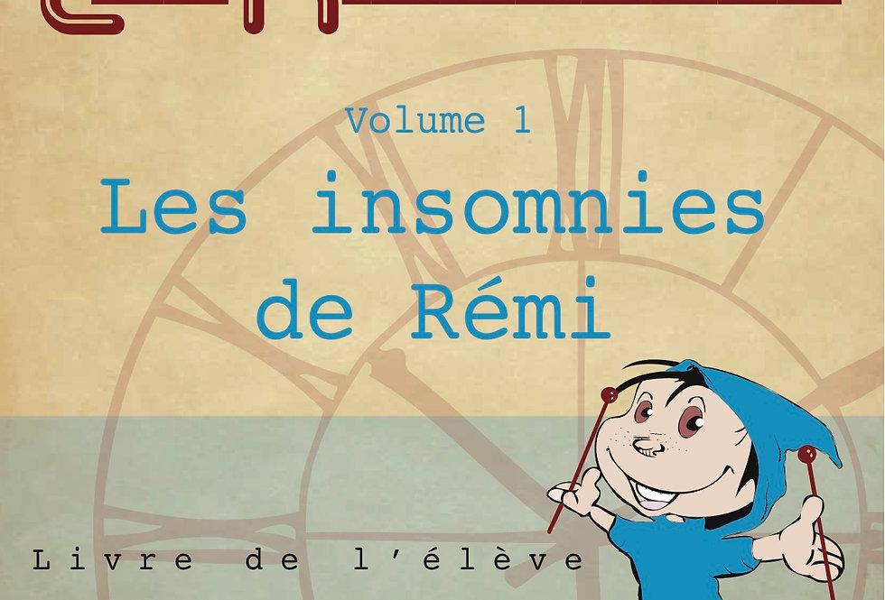 Les insomnies de Rémi / Livre de l'élève