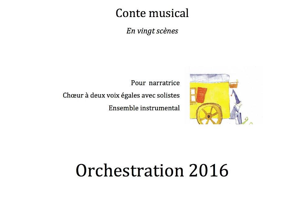 L'histoire de Simon 2016 10 Parties instrumentales