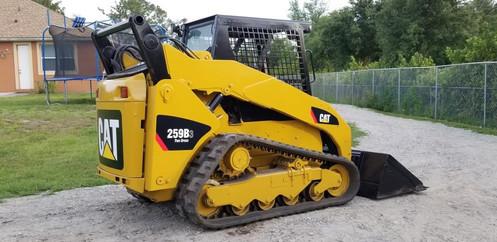 2013 Caterpillar 259B3 Track Skid Steer