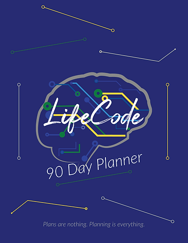 LifeCode 90 Day Planner (Hard Copy)