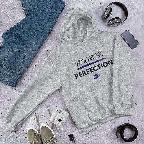 Progress Over Perfection Unisex Hoodie