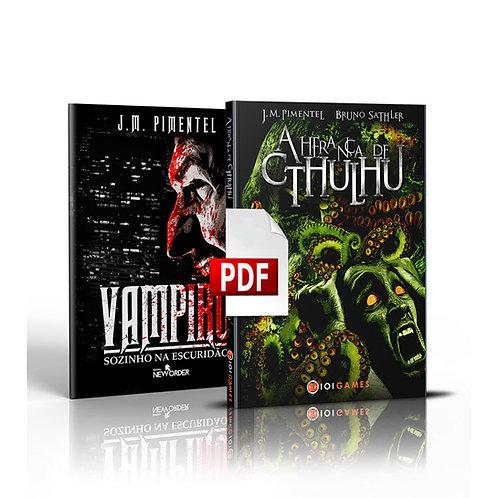 A Herança de Cthulhu + Vampiro - Sozinho na Escuridão PDF