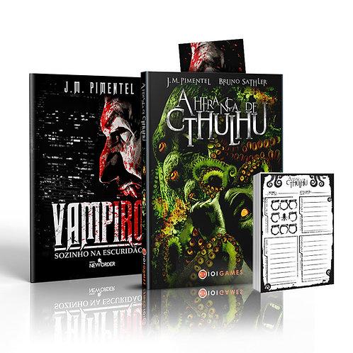 A Herança de Cthulhu + Vampiro - Sozinho na Escuridão