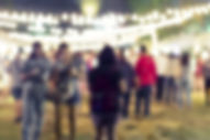 Festival Event Party Blurred People Background