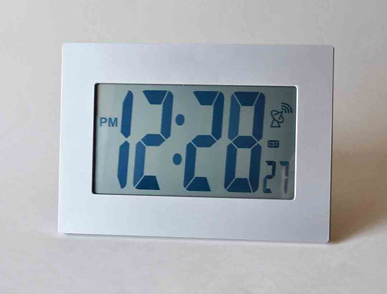 Atomic Clock with Jumbo Size 3.5 LCD Digits