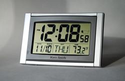 ATOMIC CLOCK w/JUMBO LCD