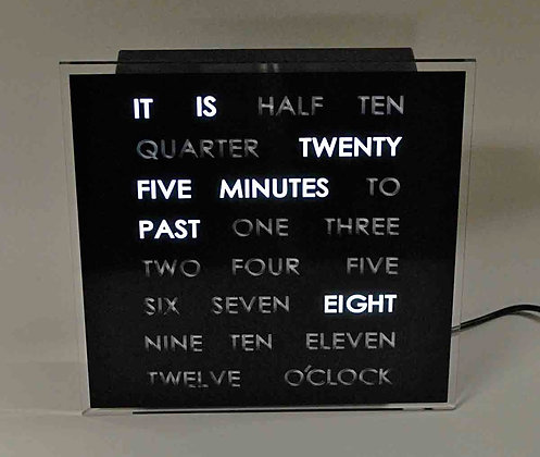 LED Word Clock - Ultra Unique