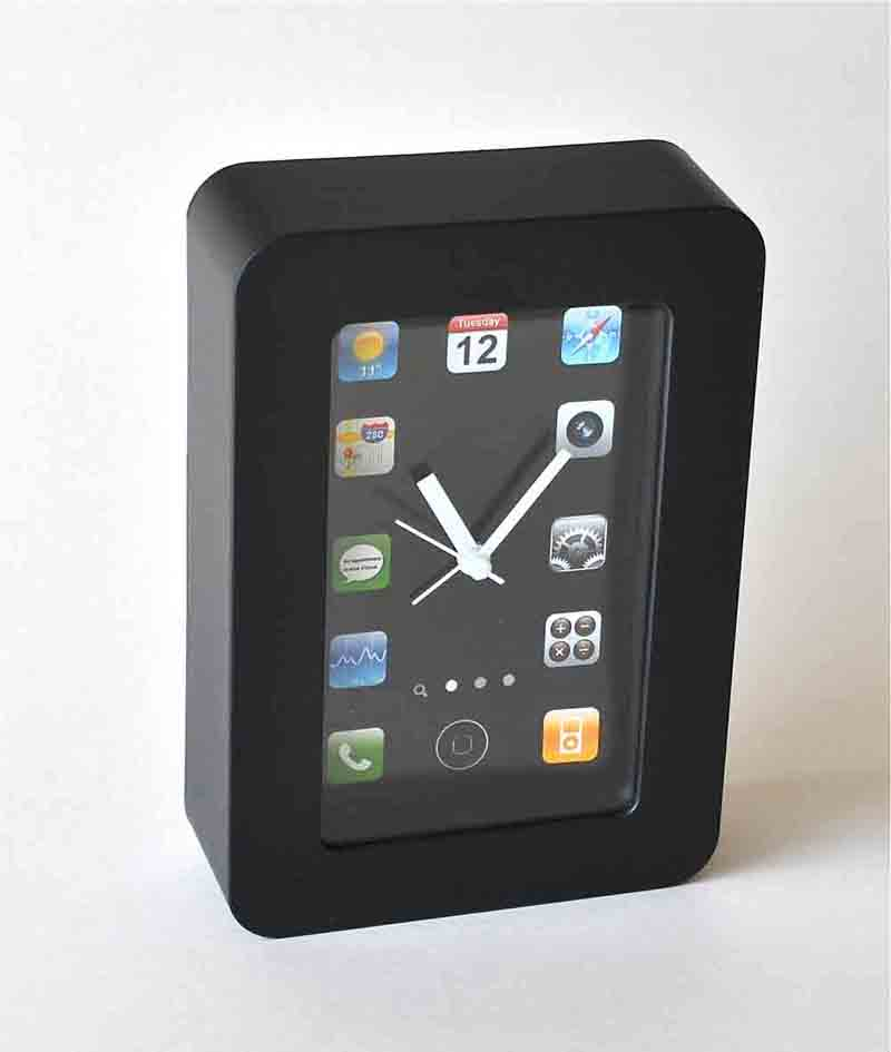 iPHONE STYLE CLOCK