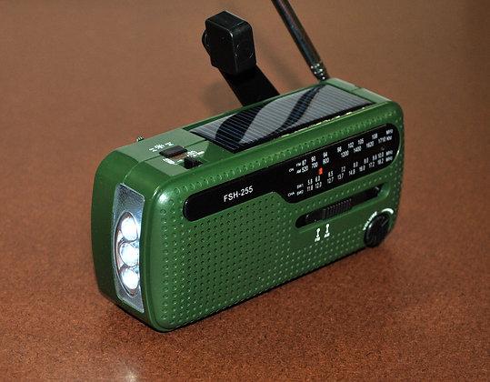LANTERN AM/FM RADIO DYNAMO POWER