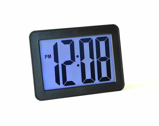 "Alarm Clock with Jumbo 2.5"" LCD Digits"